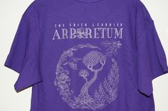 Stop in the the Frances Plecker Ed Center and buy your EJC Arboretum t-shirt just in time for spring gardening. Or pick one up at the Native Plant Sale next weekend, Fri/Sat, Apr 17/18, 9-3pm.