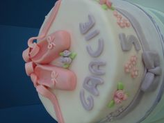 Shimmery Ballet Shoes Birthday Cake from www.brookerbakes.moonfruit.com