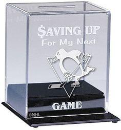 Caseworks Pittsburgh Penguins Collectible Team Bank - Shop.NHL.com