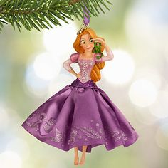 Rapunzel Sketchbook Ornament 2015