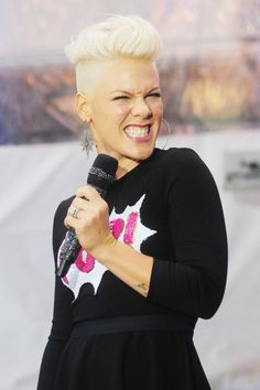P!nk I have always loved her style on and off concert. Been following her forever.