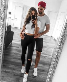 Couple Outfit lesbians 9 OR Choose your fave look! Tag your friends -… 9 OR Choose your fave look! Tag your friends -. Family Outfits, Outfits For Teens, Summer Outfits, Girl Outfits, Casual Outfits, Cute Outfits, Fashion Outfits, Emo Outfits, Fashion Edgy