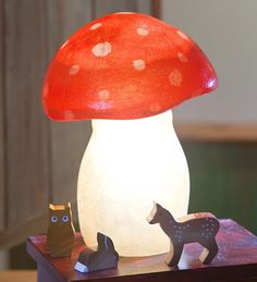 E loves toadstools after watching Gnomeo and Juliet recently. Would be a nice addition to her room.