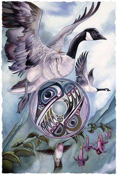 Bergsma Gallery Press :: Paintings :: Nature :: Birds :: Water Birds :: The Legend - Prints
