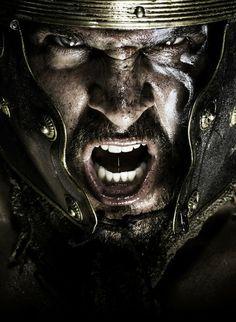 The Roman Centurion - Larry Rostant Roman Warriors, Celtic Warriors, Warrior Tattoos, Viking Tattoos, Roman Centurion, Roman Legion, Christian Warrior, Spartan Warrior, Neue Tattoos