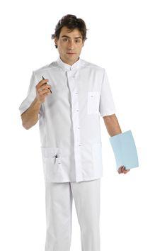Sanidad, blusón sanitario, vestuario laboral, ropa de trabajo, ropa profesional www.dyneke.com Filipina, Elementary Schools, Chef Jackets, Fashion, Vestidos, Professional Wear, Professional Attire, Teacher Clothes, Work Wear