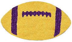 """MZ2058X5 - 11""""L X 6.25""""W X 4.5""""H STYROFOAM FOOTBALL (FLAT BACK) great for wall/door decoration and to add to your work creation designs."""
