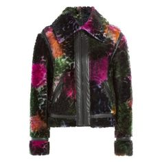 Found on OhLike: Kenzo Shearling Jacket