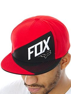 Gorro Snapback Fox Overlapped Flame Rojo (Default  cfffd866ef1