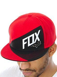 Gorro Snapback Fox Overlapped Flame Rojo (Default  743e5087cf8