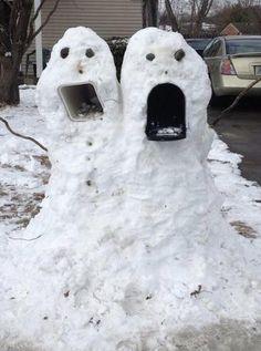My snowmonster!!
