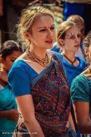 European people slowly recognizing the truth and spirituality of Hinduism as Religion and they are increasingly attracted to practise it.