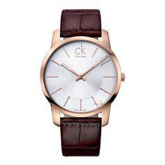Buy Calvin Klein - City Watch for Men - Silver (Brand Warranty) at Best Price in Pakistan Mens Watches Leather, Leather Men, Brown Leather, Pink Leather, Cool Watches, Watches For Men, Men's Watches, Wrist Watches, Fashion Watches