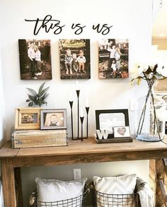This is us wood words wood word cut out laser cut wedding image 5 Wooden Wall Art, Wooden Walls, Canvas Wall Decor, Living Room Designs, Living Room Decor, Living Rooms, Foyer Decorating, Decorating Ideas, Cozy House
