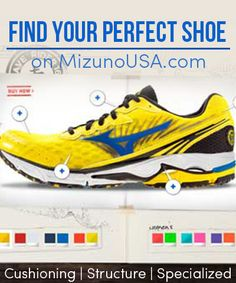 How to Find Your Perfect Shoe for Running. Going over my running log - almost every PR was in a Mizuno :)