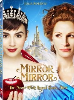 Mirror, Mirror. Released in 2012. This story is a Snow White fairy tale from the Brothers Grimm. The movie revolves around Snow White, who is the stepdaughter of the Queen, is hidden away in a royal palace. The Queen banishes Snow White from the kingdom when she catches the eye of a prince. The maiden takes shelter in a forest with group of witty and rebellious dwarfs. Snow White does everything she can to save her kingdom from the evil queen.