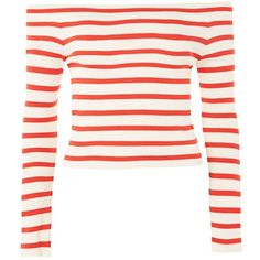 a1cb310fa Stripe Bardot Split Sleeve Knitted Top - New In Fashion - New In
