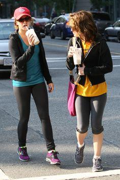 Elizabeth Reaser - Nikki Reed and Elizabeth Reaser Leave the Gym