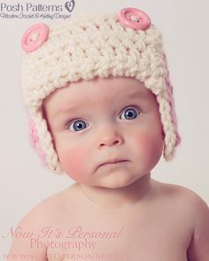 Crochet PATTERN - This adorable Crochet Aviator Earflap Pattern is perfect for boys, girls, kids, adults, women and men. Super cute and incredibly cozy!