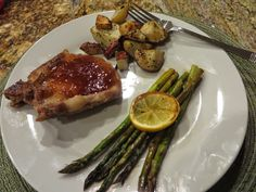Ever Ready Baked Pork Chops with Peach Whiskey Sauce dinner recipes posted March 23, 2015