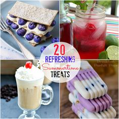 treats for summer | Great Ideas -- 20 Cool Summer Treats!