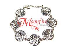 GAME OF THRONES House Targaryen Sigil Charm Bracelet