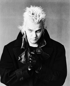 The Lost Boys David   ... Kiefer Sutherland as David from The Lost Boys High Quality Photo B3975