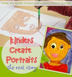 Inside the Kinder classroom. Which portrait style do you recognize?
