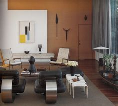 oscar niemeyer designed home in santa monica Santa Monica, Interior Architecture, Interior And Exterior, Sofa Deals, Best Leather Sofa, Oscar Niemeyer, Contemporary Interior, Interiores Design, Decoration
