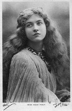 Miss Maud Fealy, via Flickr.