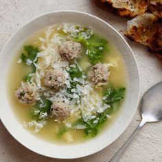 Giada's Italian Wedding Soup Recipe | Key Ingredient