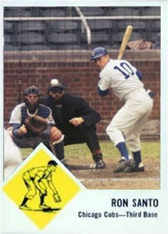 Ron Santo Chicago Cubs