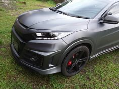 Honda HR-V Prestige | Noblesse Bodykit | Oracal Matte Charcoal Metallic | 19' OZ Montecarlo HLT | Michelin Premacy 3st ST