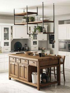 Updated Kitchen, Kitchen Updates, Kitchen Ideas, Kitchen Design, Italian  Kitchens, Hanging