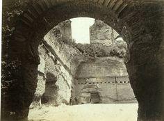Italie, Rome, Termes de Caracalla     #Europe #Italia #Rome_Roma