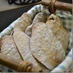 Homemade Matzo for Passover | #SundaySupper @Conni TheFoodieArmyWife