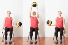 Try These Unique Medicine Ball Exercises to Work Your Body and Core: Medicine Ball Exchange
