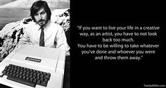 Enjoy Most Inspiring Steve Jobs quotes at Quote academy. In honor of Steve Jobs, the here's a list his most memorable quotes about success in business. Fine Quotes, Job Quotes, Quotes Motivation, Motivation Inspiration, Amazing Quotes, Great Quotes, Best Motivational Quotes, Inspirational Quotes, Mystic Quotes