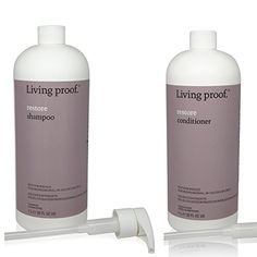 Living Proof Restore Shampoo and Conditional Combo 32 oz *** Check this awesome product by going to the link at the image. Grey Hair Care, Grey Curly Hair, Shampoo For Gray Hair, Purple Shampoo, Grey Hair Looks, Gray Hair Highlights, Gray Hair Growing Out, Transition To Gray Hair, Living Proof