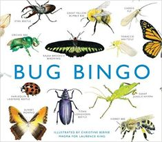 Get Book Bug Bingo (Magma for Laurence King) Author Christine Berrie and Andrew Polaszek Bingo Set, Bingo Games, Bingo Books, King Author, Board Games For Kids, Game Boards, Buy Birds, Cute Games, Traditional Games