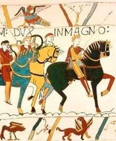 Bayeux Tapestry - Duke William - detail tapestry