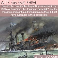 Japan didn't know what surrender is -  WTF fun facts