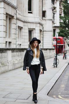London in the rain - Iga Wysocka Blog (skinnyliar)
