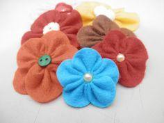 Flor de feltro 3
