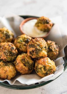 Broccoli Cheese Balls Baked Broccoli Cheese Balls - outrageously delicious as a meal or bites to serve at a gathering! Served with a Yoghurt Lemon Sauce. Broccoli (disambiguation) Broccoli is a vegetable. Broccoli may also refer to: Vegetable Dishes, Vegetable Recipes, Vegetarian Recipes, Cooking Recipes, Healthy Recipes, Delicious Recipes, Pasta Recipes, Broccoli Bites, Broccoli And Cheese