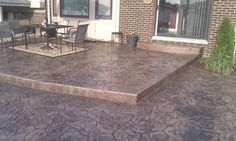 images of stamped concrete patios | Stamped Concrete Patio Design Sterling Hts., MI