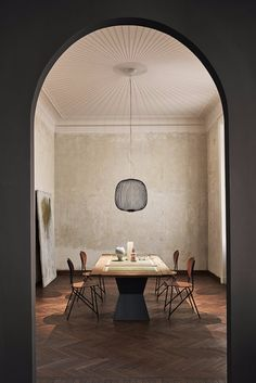 Inspired by bicycle spokes, designer Garcia Cumini created this lighting design for Foscarini.