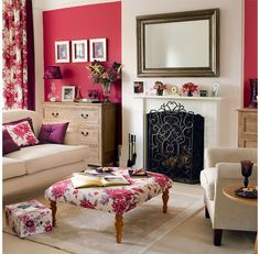 Pink is most definitely not just for a little girls room!
