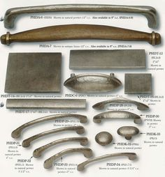 pewter cabinet knobs, pewter drawer pulls, pewter wall tiles