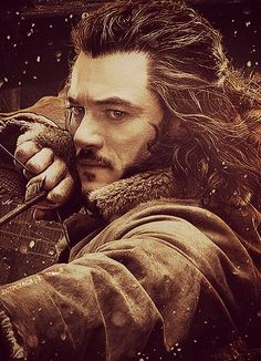 Bard - Luke Evans. Okay can we all agree that he is extremely sexy and that we all wish he was straight??? lol